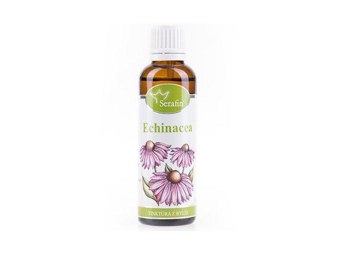 Echinacea bylinná tinktúra - 50ml - Serafin