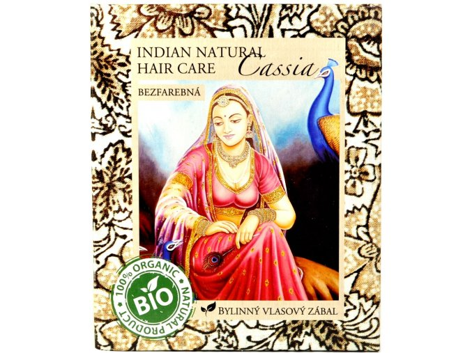 Cassia vlasový zábal - 200g - Indian natural hair care