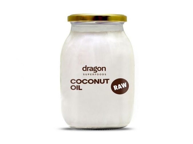 Kokosový olej panenský BIO RAW - Dragon superfoods