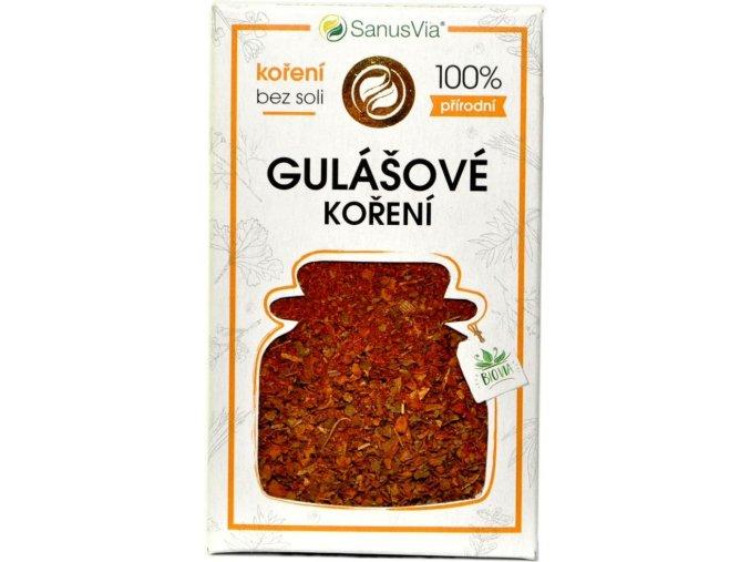 Gulášové korenie BIO - 31g - SanusVia
