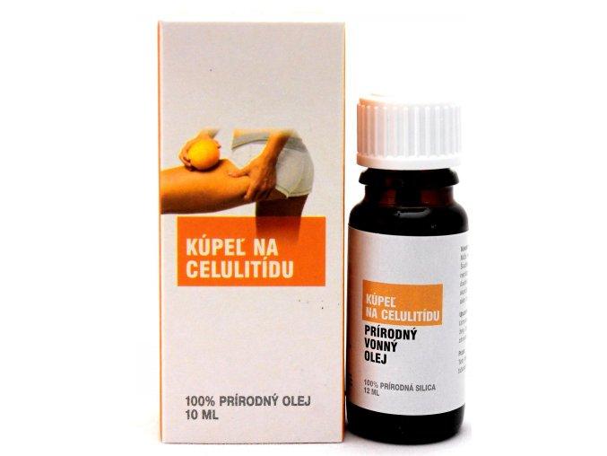 Kúpeľ na celulitídu prírodný éterický olej 100% - 12ml - Savor SK