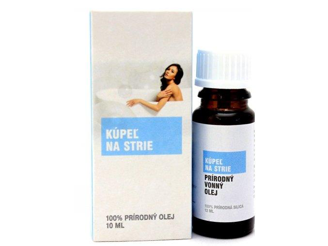 Kúpeľ na strie prírodný éterický olej 100% - 12ml - Savor SK