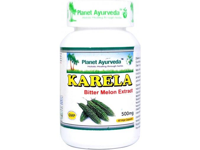 Karela/Horká tekvička kapsule extrakt 500mg - 60cps. - Planet ayurveda