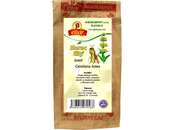 Horec žltý koreň 30g Agrokarpaty Plavnica