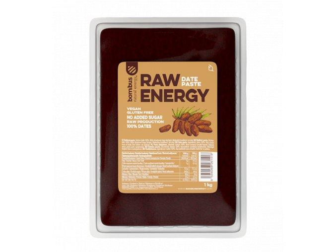 Ďatlová pasta bezlepková RAW - 1kg - Bombus Energy