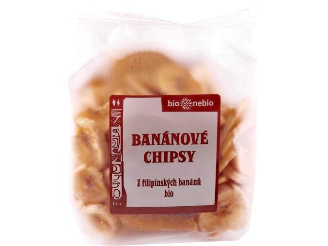 Banánové chipsy BIO - 150g - Bio nebio