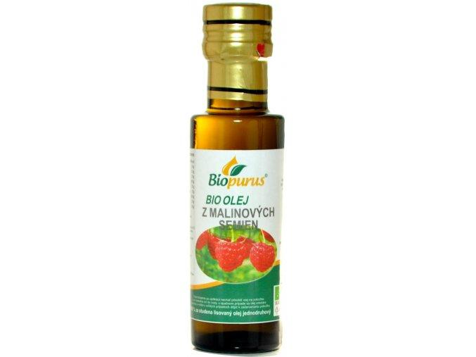 Olej z malinových semien 100% BIO - 100ml - Biopurus