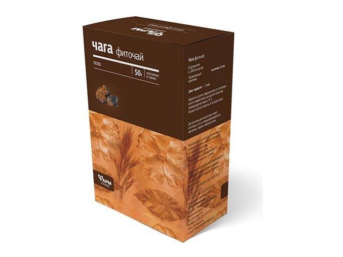 Čaga čaj - Ryšavec šikmý - 50g - Farmgrupp