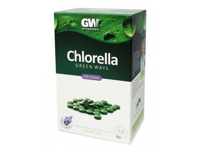 Chlorella tablety - 330g - Green ways