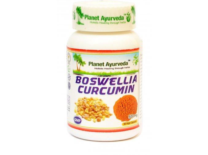 Boswellia Curcumin 500mg - 60 kapsúl - Planet ayurveda
