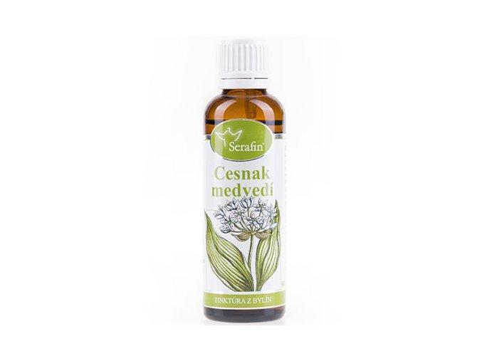 Medvedí cesnak bylinná tinktúra - 50ml - Serafin
