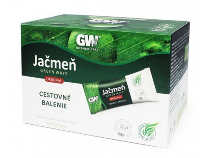 Zelený jačmeň cestovné balenie - 180g - Green ways