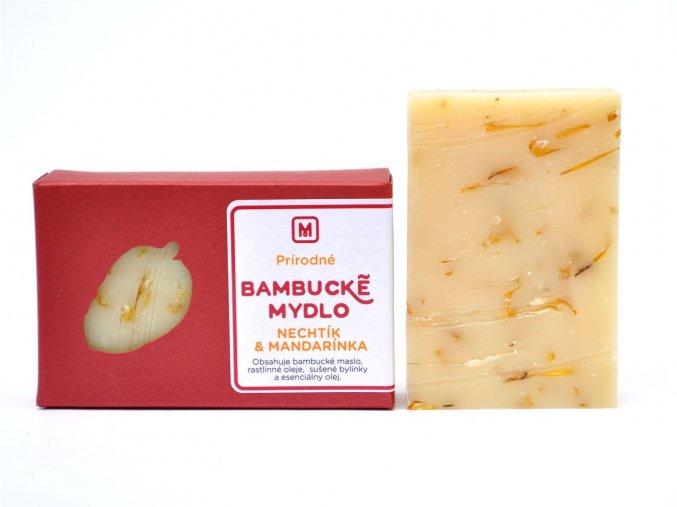 Bambucké mydlo Nechtík - 110g - Slovenská mydláreň