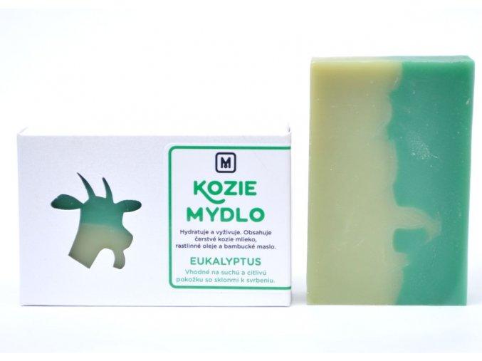 Mydlo kozie mlieko Eukalyptus - 110g - Slovenská mydláreň