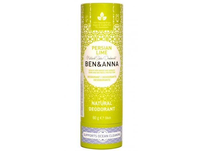 Ben & Anna Perzská limeta deodorant - 60g - Ben & Anna