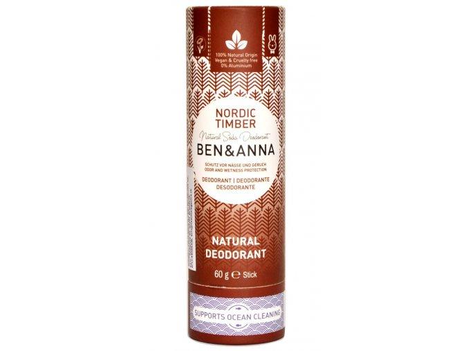 Ben & Anna Nordické drevo deodorant - 60g - Ben & Anna