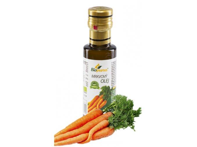 Mrkvový olej 100 ml macerát