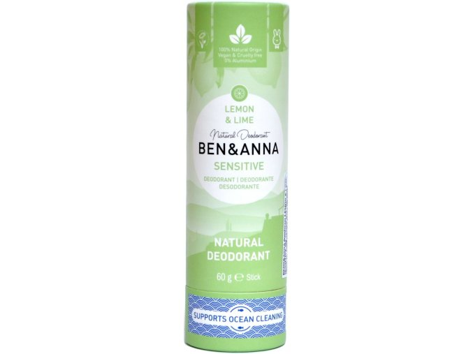 Ben & Anna Lemon&Lime Sensitive - 60g - Ben & Anna