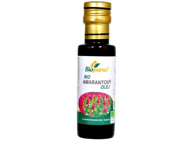 Amarantový olej BIO Biopurus