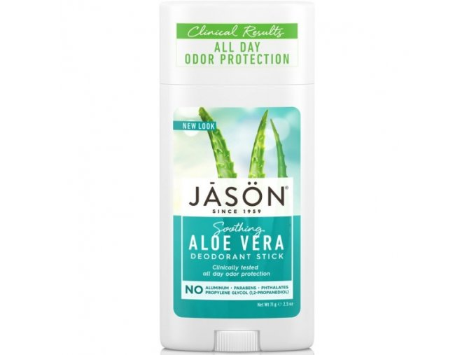 Deodorant tuhý Aloe vera - 71g - JĀSÖN