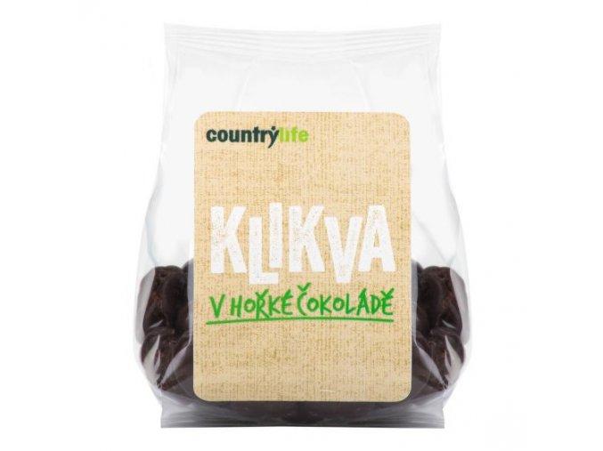 Brusnice v horkej čokoláde - 100g - Country Life