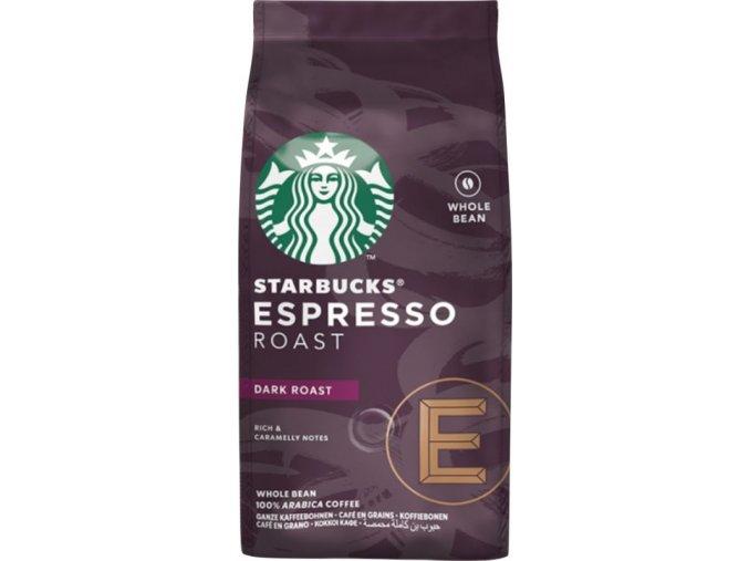 Káva Espresso roast zrnková - 200g - Starbucks