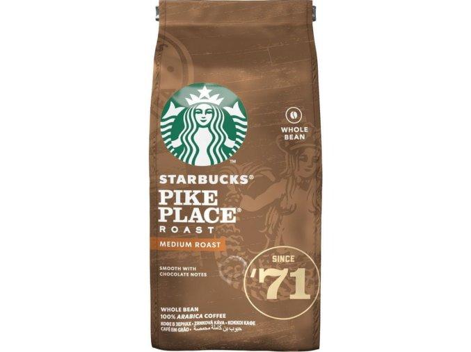 Káva Pike Place Roast zrnková - 200g - Starbucks