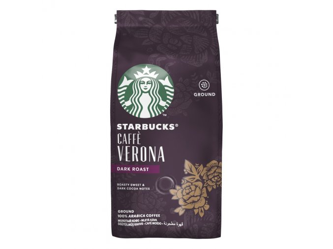 Káva Caffé Verona mletá - 200g - Starbucks