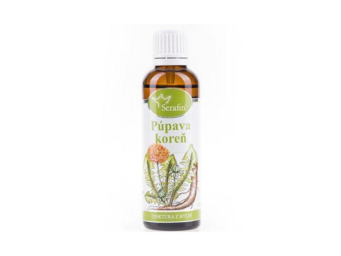 Púpava koreň bylinná tinktúra - 50ml - Serafin
