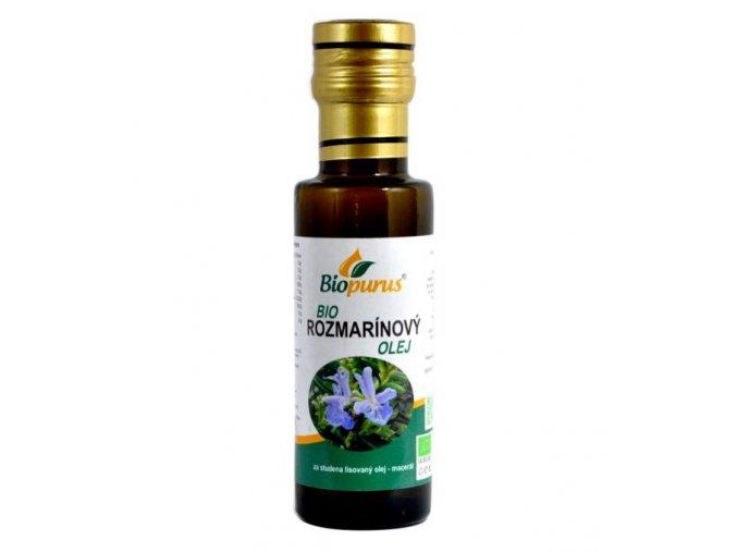 Rozmarínový olej - 100ml - Biopurus