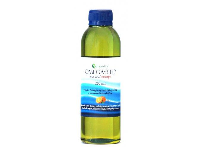 Rybí olej OMEGA-3 HP orange - 270ml - Nutraceutica