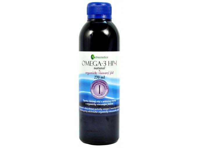 Rybí olej s organicky viazaným jódom - 270ml - Nutraceutica