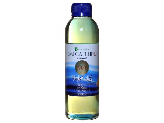Rybí olej s vitamínom A + D + E - 270ml - Nutraceutica