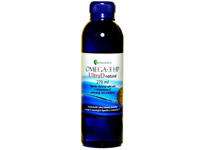 Rybí olej s vitamínom ultra D 400I.U. - 270ml - Nutraceutica