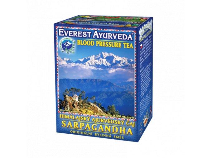 Sarpaghanda čaj - Zvýšený krvný tlak - 100g - Everest ayurveda