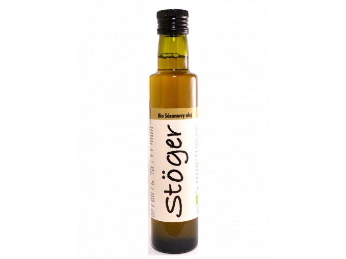sezamovy olej bio stoger