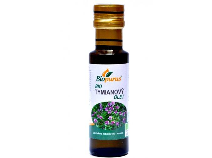 Tymiánový olej BIO - 100ml - Biopurus