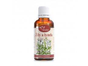 Žily a lymfa zmes tinktúra z púčikov - 50ml - Serafin