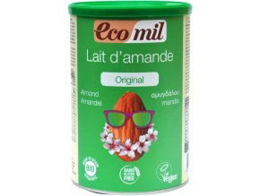 Mandľové mlieko instantné BIO - 400g - Ecomil