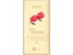 Čokoláda biela na varenie BIO - 200g - Vivani