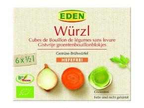 Bujón zeleninové kocky bez droždia - 72g - Eden