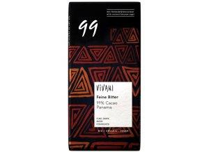 Čokoláda 99% BIO - 80g - Vivani