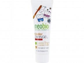 Detský zubný gel jablko & papája BIO - 50ml - Neobio