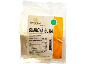 Guarová guma - 100g - Natural