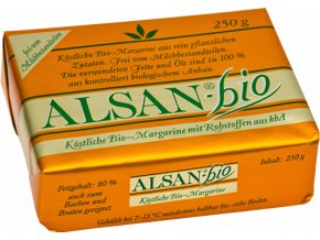Náhrada masla Alsan BIO - 250g - Alsan