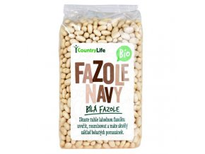 Navy fazuľa BIO - 500g - Country life