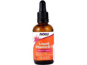 Vitamín D3 400 IU/UI - 59ml - NOW foods