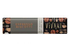 Čokoládová tyčinka espresso BIO - 40g - Vivani