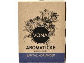 Aromatické mydlo prírodné Santal Koriander - 100g - Vonai