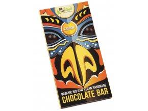 Čokoláda s kúskami kešu BIO RAW - 70g - Lifefood